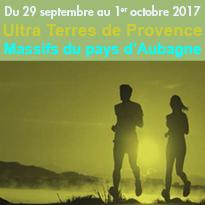 29 septembre<br>au 1er octobre<br>Ultra Terres<br>de Provence<br>pays d'Aubagne