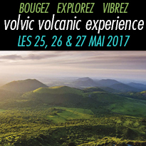 VOLVIC<br>VOLCANIC<br>EXPERIENCE<br>LES 25, 26 & 27 MAI 2017