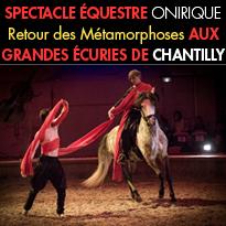 Chantilly (60)<br>spectacle<br>équestre onirique<br> jusqu'au 5 novembre