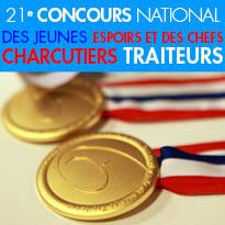 21, 22, 23 novembre 2015<br>Bordeaux<br>concours Jeunes Espoirs<br>et Chefs Charcutiers<br>Traiteurs