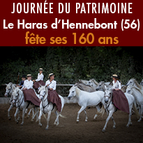 Dimanche 17 septembre<br>Le haras fête<br>son 160ème anniversaire