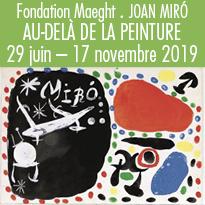 la Fondation<br>Maeght<br>célèbre<br>Joan Miró