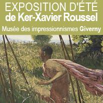 Exposition<br>au musée<br>des impressionnismes<br>de Giverny