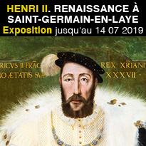 Exposition<br>Henri II<br>Renaissance<br>à Saint-Germain-en-Laye