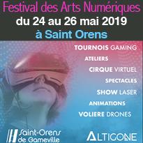 FESTIVAL<br>DES ARTS<br>NUMÉRIQUES<br>2019