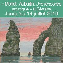 « Monet - Auburtin<br>Une rencontre<br>artistique »