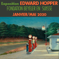 Exposition<br>EDWARD HOPPER<br>en Suisse