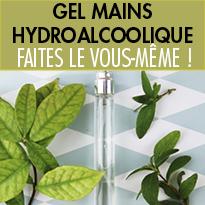 Recettes du gel et spray mains hydroalcoolique