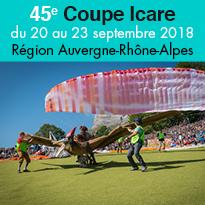 45e Coupe Icare<br>Auvergne<br>Rhône<br>Alpes