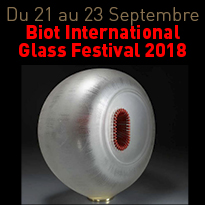 Du 21 au 23 Septembre<br>Festival<br>Biot International<br>Glass Festival