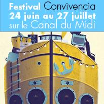 Festival<br>Convivencia<br>24 juin au 27 juillet