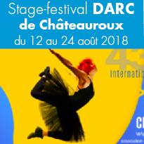 Le Stage-festival<br>DARC 2018<br>du 12 au 24 août