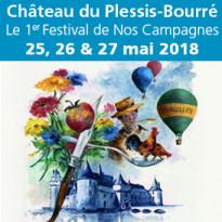 Le 1er Festival<br>de Nos Campagnes<br>25, 26 & 27 mai 2018