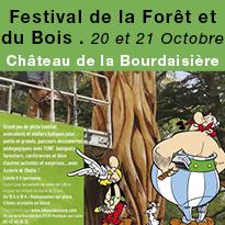 Festival<br>de la Forêt<br>et du Bois<br>au Château<br>de la Bourdaisière