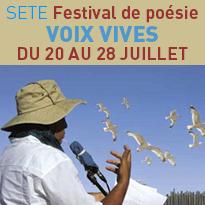 Voix Vives<br>Festival de poésie<br>à Sète