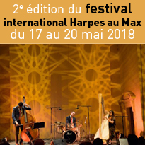 Harpes<br>au Max,<br>festival<br>unique en France