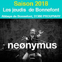 Saison 2018<br>Abbaye<br>de Bonnefont