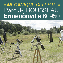 Mécanique Céleste <br>du 3 au 5 août<br>Ermenonville 60