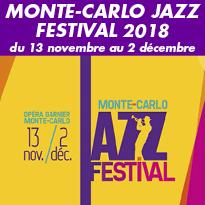 Du 13 novembre<br>au 2 décembre<br>Le Monte-Carlo<br>Jazz Festival