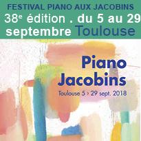 Jusqu'au 29 septembre<br>festival<br>Piano<br>aux Jacobins