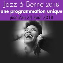 festival<br>de Jazz<br>au cœur<br>du Château<br>de Berne
