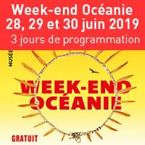 Week-end<br>Océanie<br>du 28, 29 et 30 juin