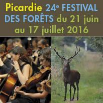 Picardie<br>Du 21 juin au 17 juillet 2016<br>le 24e Festival des Forêts<br>