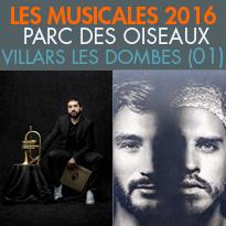 Du 27 juin au 3 juillet<br>le Parc des Oiseaux (01)<br>6e Musicales du Parc