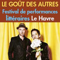 Du 19 au 22 janvier 2017<br>Le Havre (76)<br>Festival de performances<br>littéraires