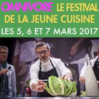 la 12ème édition du festival<br>Omnivore<br>les 5, 6 et 7 mars 2017<br>Paris 75005
