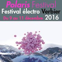 En Suisse<br>Polaris Festival<br>la crème<br>de l'électro à Verbier<br>Du 9 au 11 décembre 2016