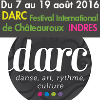 Stage DARC<br>Festival International<br>de Châteauroux(36)