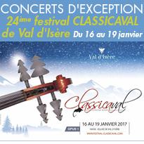 24ème Festival Classicaval<br>Val d'Isère (73)