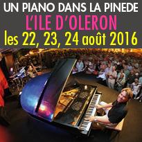 Jazz Festival<br>Grand Village Plage<br>sur L'ILE D'OLERON (17)