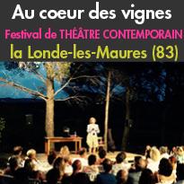27, 28 et 29 juillet<br>Figuière-Festival<br>Festival de théâtre<br>la Londe-les-Maures (83)
