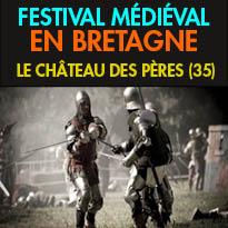 24-25 septembre<br>Grand Festival<br>Médiéval inédit<br>en Pays de Rennes (35)