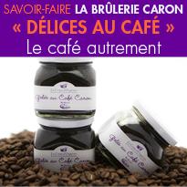 le café Caron<br>autrement<br>que dans une tasse<br>Déclinaison créative