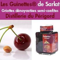 Guinettes®<br>griottes dénoyautées<br>semi-confites