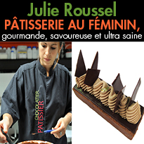 Julie Roussel<br>2ème prix du concours national<br>«Goût et Santé»