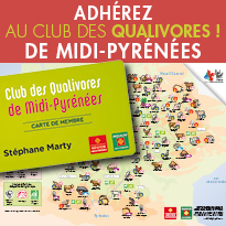 Bienvenue<br>au Club des Qualivores<br>de Midi-Pyrénées