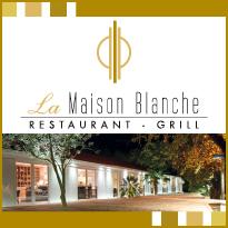 Restaurant La Maison Blanche :<br>Ambiance cosy <br>et cuisine bien sentie