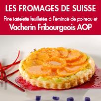 Fine tartelette au poireau <br>Vacherin Fribourgeois AOP
