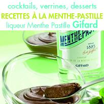Des recettes<br> à la Menthe-Pastille<br> pour un été fort en goût !