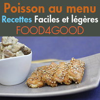 Recettes Poisson<br>2 recettes raffinées<br>fines et légères