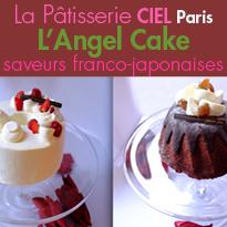Saveurs franco- japonaises<br>La Pâtisserie Ciel<br>Paris