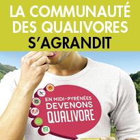 Nouveau !<br>Des traiteurs Ambassadeurs<br>des produits de qualité<br>de Midi-Pyrénées