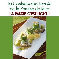 La patate c'est light !<br>par les Toqués<br>de la Pomme de Terre
