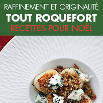 Le Roquefort s'invite<br>sur les tables<br>de fin d'année