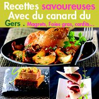 Meilleures recettes<br>foies gras, magrets, confits...<br>du Gers