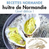 Recettes Normande autour <br>de l'huître normande